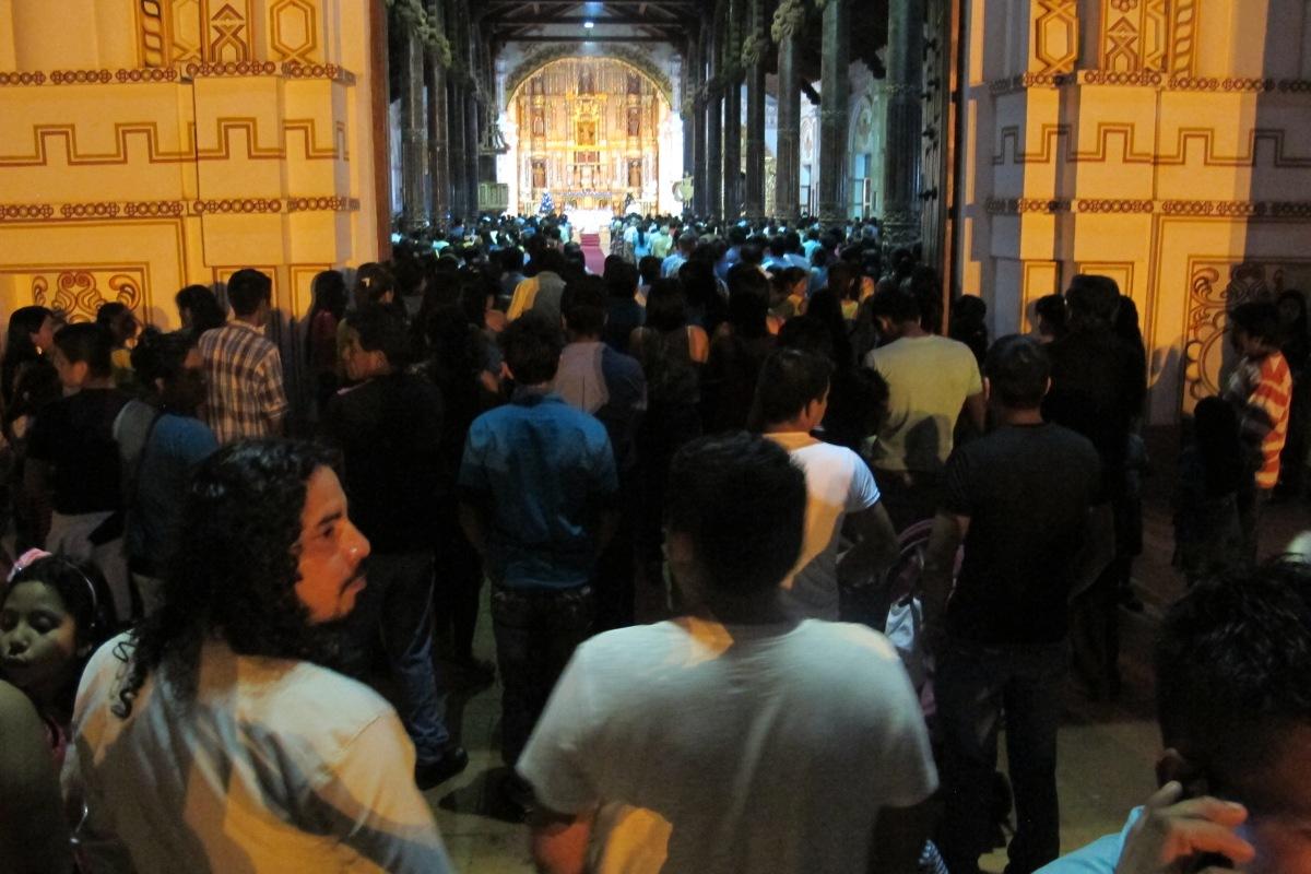 Mässa i San Ignacio