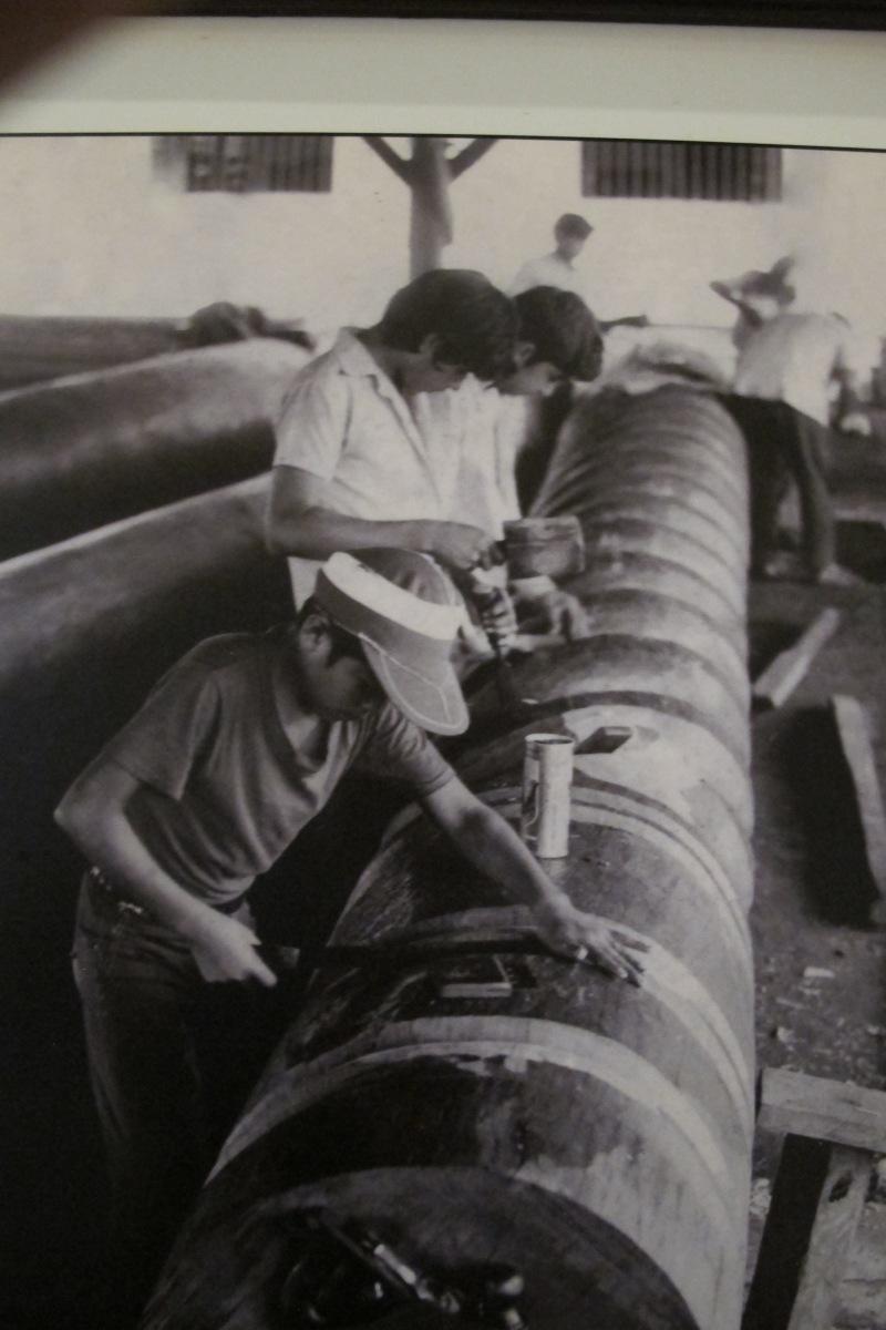 Restauration av pelare