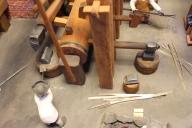 Modell av 1700-talsfabriken