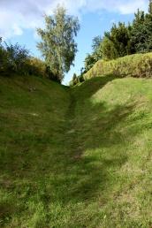 Hålvägen vid Skenaån