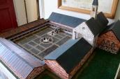 Modell av S:t Olofs kloster (?)
