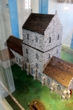 Modell av det gamla rådhuset (?)